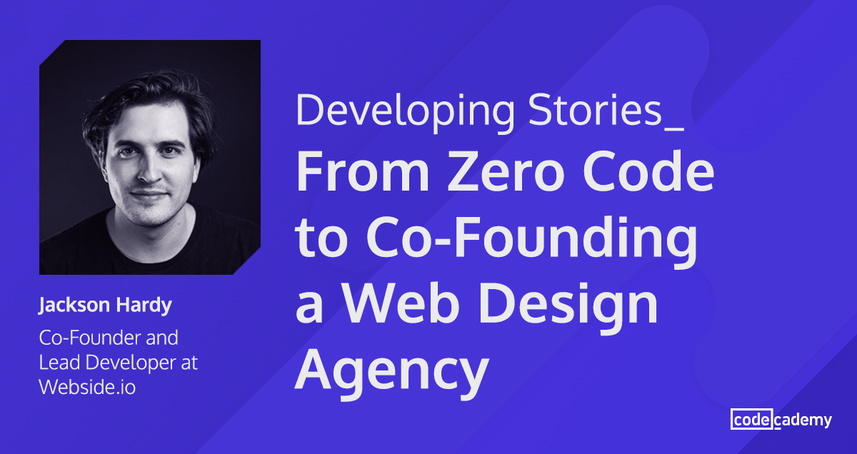 From Zero Code to Co-Founding a Web Design Agency