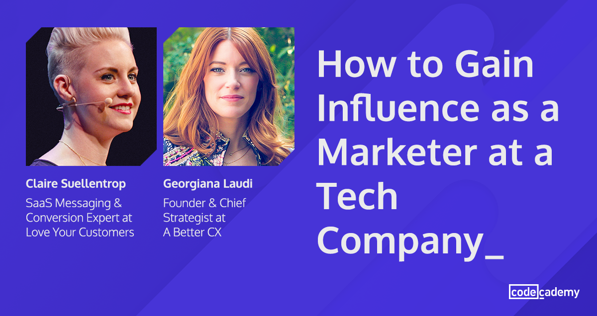 How to Gain Influence as a Marketer at a Tech Company